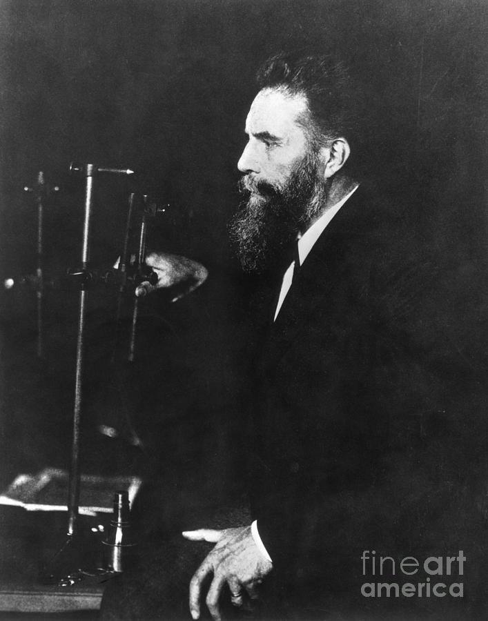German Physicist Wilhelm Roentgen Photograph by Bettmann