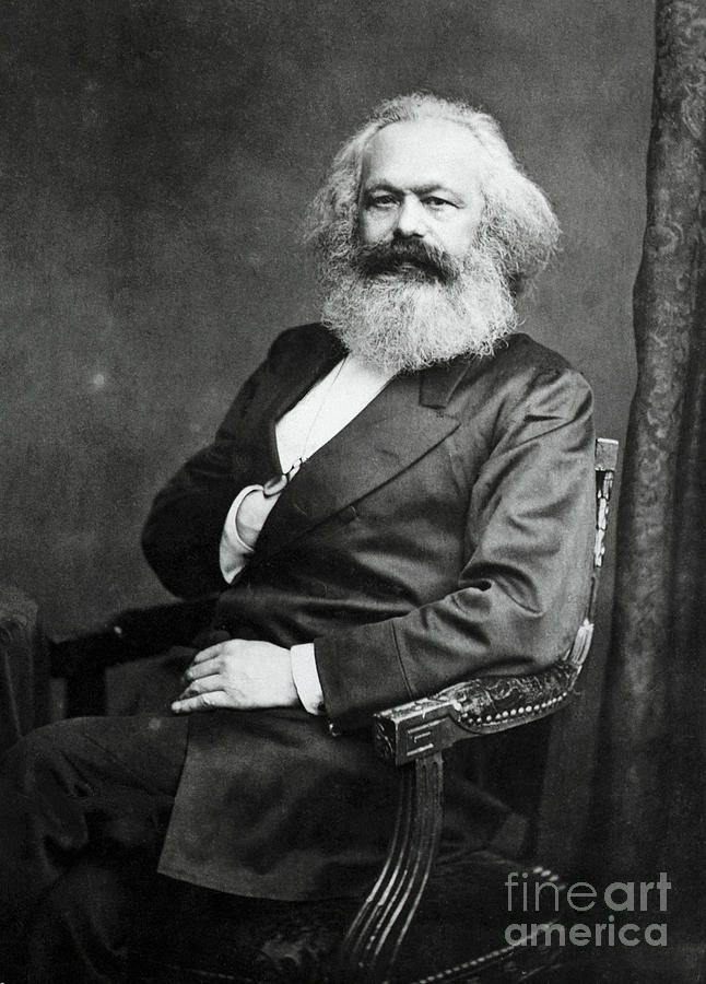German Political Philosopher Karl Marx Photograph by Bettmann