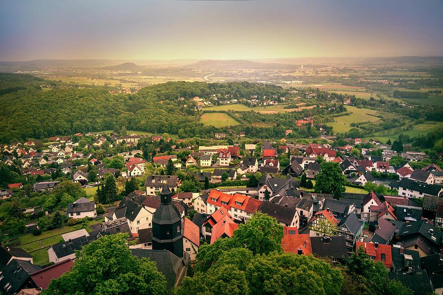 German Town Photograph by Istvan Kadar Photography