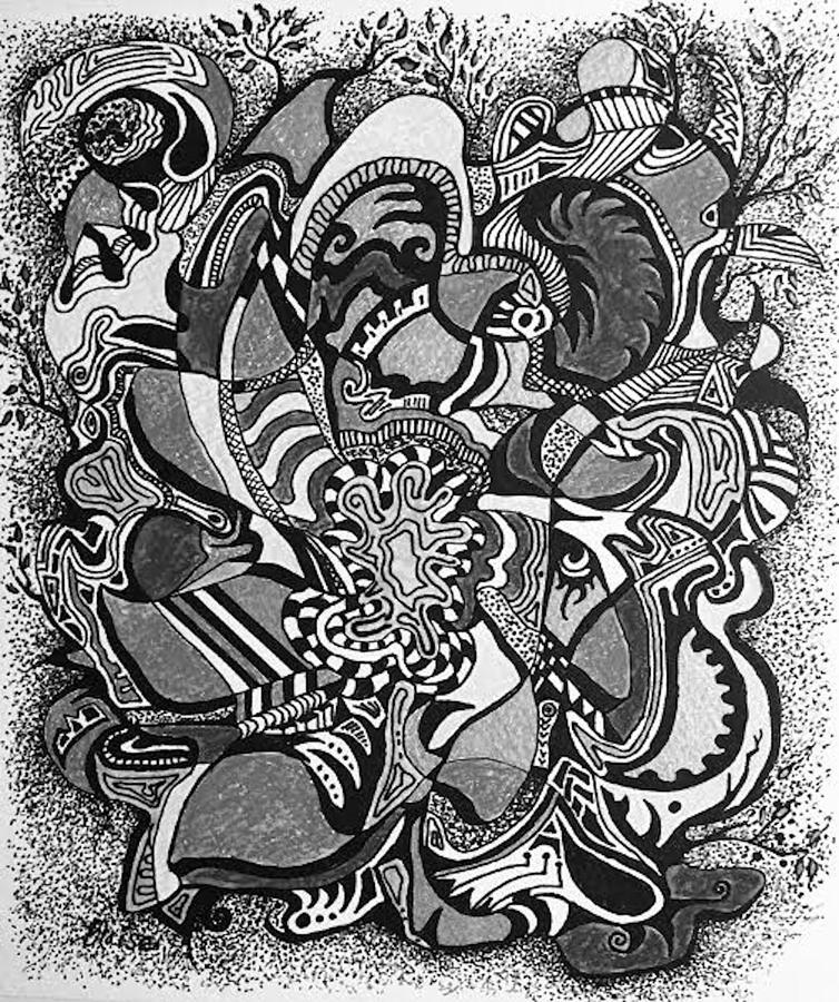 Germination Silver Tone by Yvonne Blasy