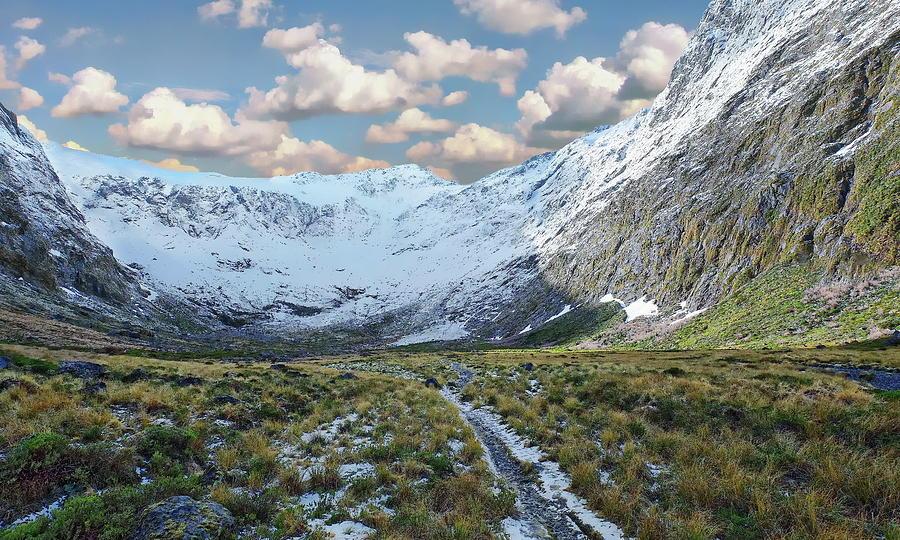 Gertrude Valley in Winter by Anthony Dezenzio