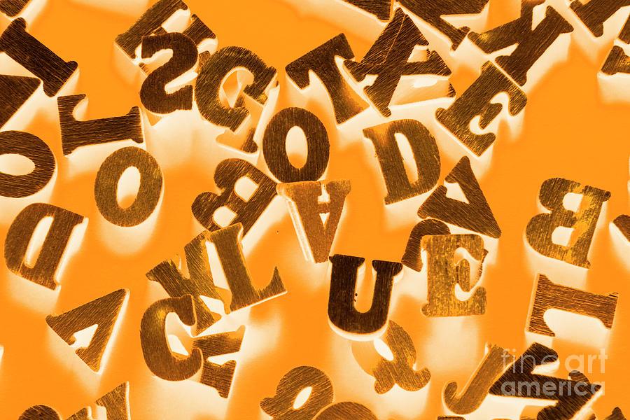 Code Photograph - Get A Clue by Jorgo Photography - Wall Art Gallery