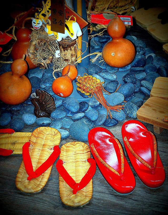 Geta Still Life with Gourds by Kimberly-Ann Talbert