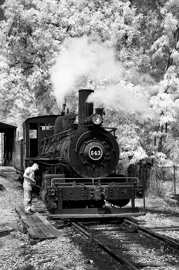 Historical Photograph - Getting Old 643 Ready To Run by Paul W Faust -  Impressions of Light
