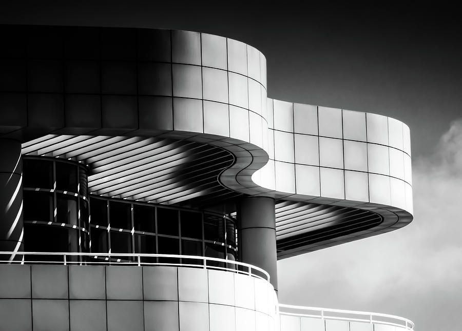 Getty Curves-2 by Francine Collier