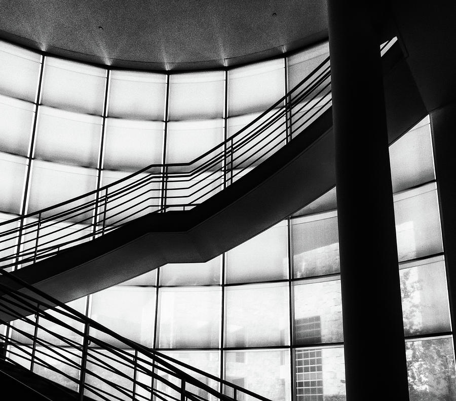 Getty Stairway by Francine Collier