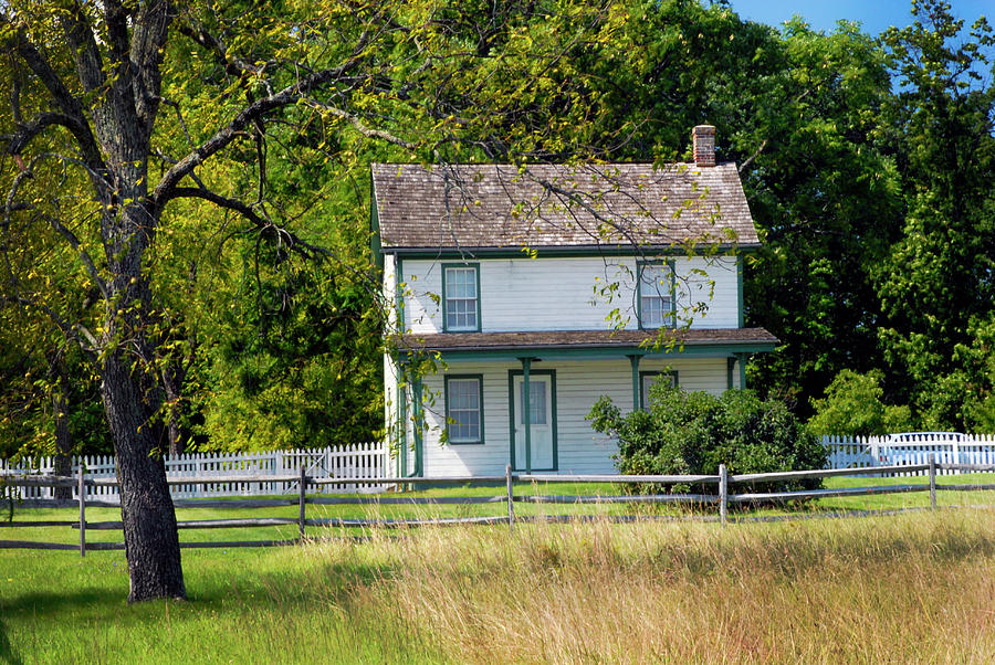 Gettysburg at the Snyder Farm House by Paul W Faust - Impressions of Light