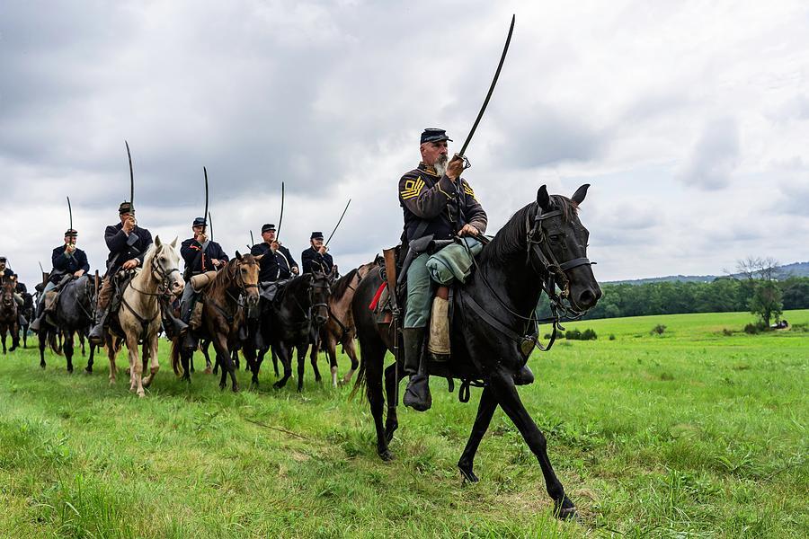 Gettysburg Civil War Battle Reenactment Episode # 1 Cavalry