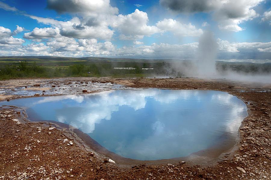 Geysir Hot Pot Iceland 6281901 by Rick Veldman