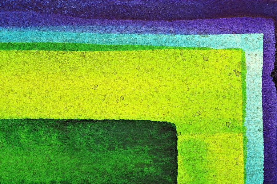 Bright Colors Painting - Ggbp by Stuart Peterman