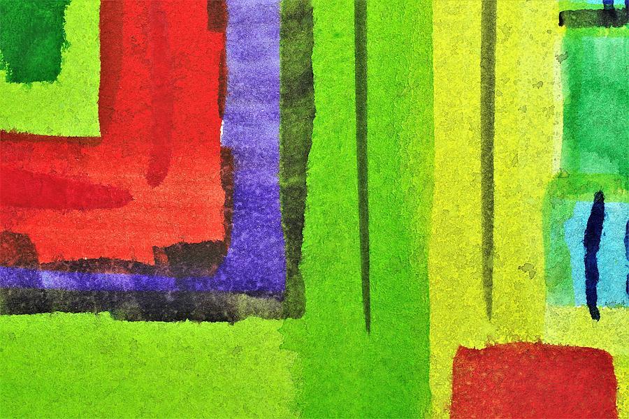 Bright Colors Painting - Ggrp by Stuart Peterman