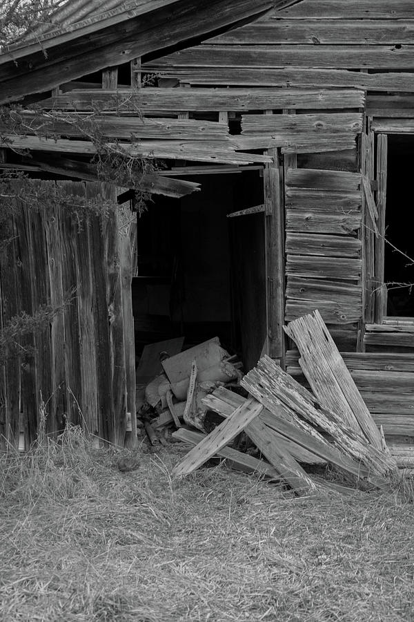 Country Barn Photograph - Ghost Barn by John Rowley