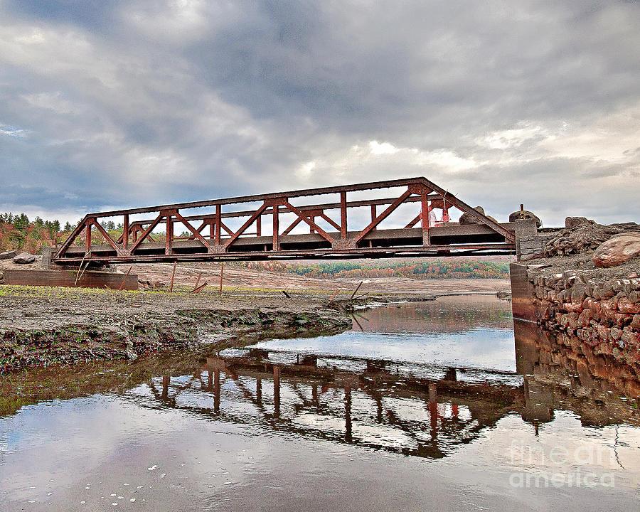 Ghost Bridge - Colebrook Reservoir by Tom Cameron