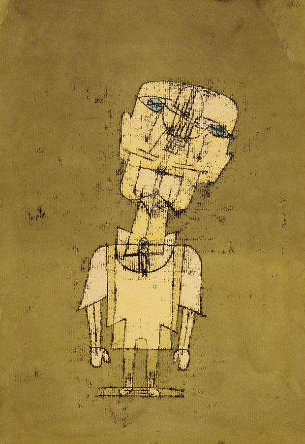 Paul Klee Painting - Ghost Of A Genius, 1922 by Paul Klee