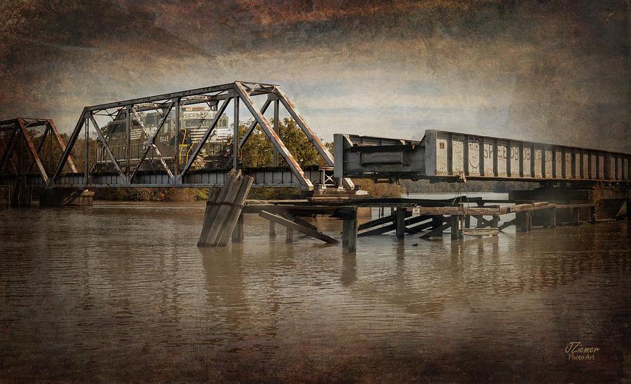 Train Photograph - Ghost Train by Jim Ziemer