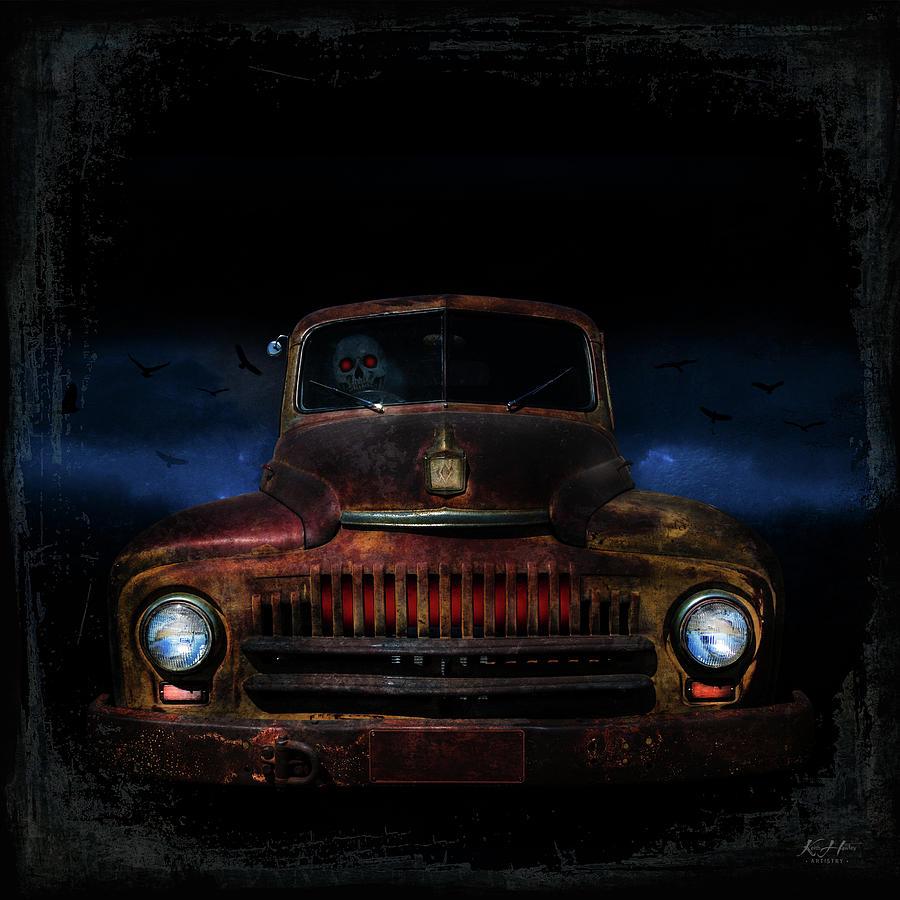 Ghostly Driver by Keith Hawley