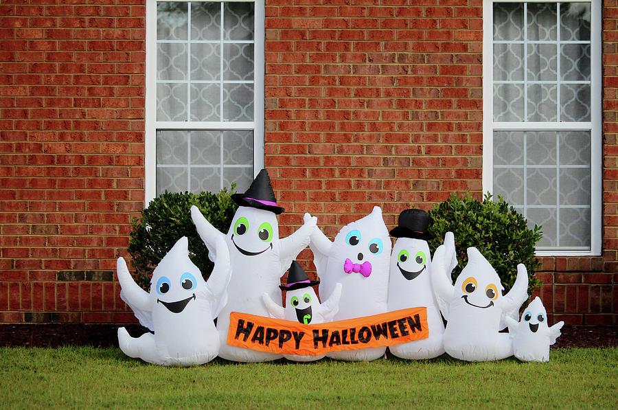 Ghostly Happy Halloween by Cynthia Guinn