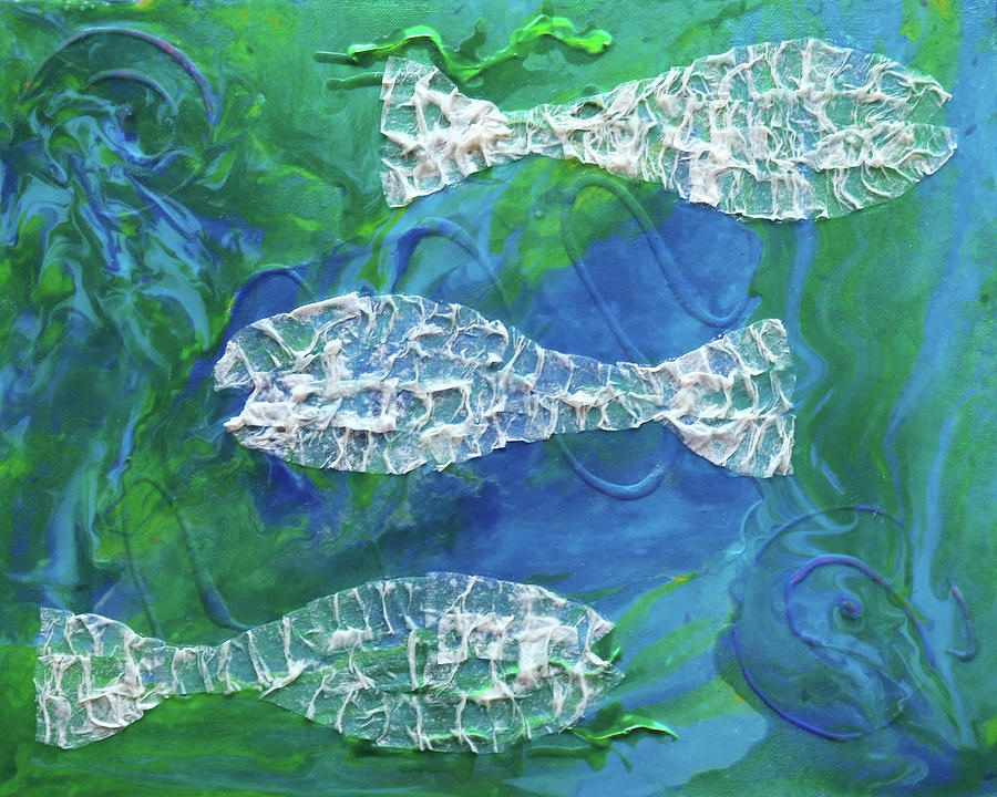 Ghosts of Fish Pass by Deborah Boyd