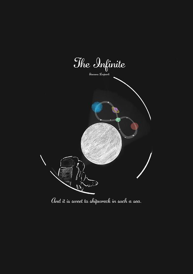 Giacomo Leopardi - The Infinite in space - English version by Uwaki Art