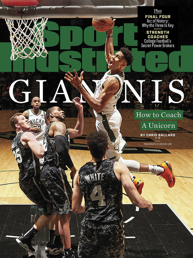 Giannis How To Coach A Unicorn Sports Illustrated Cover Photograph by Sports Illustrated