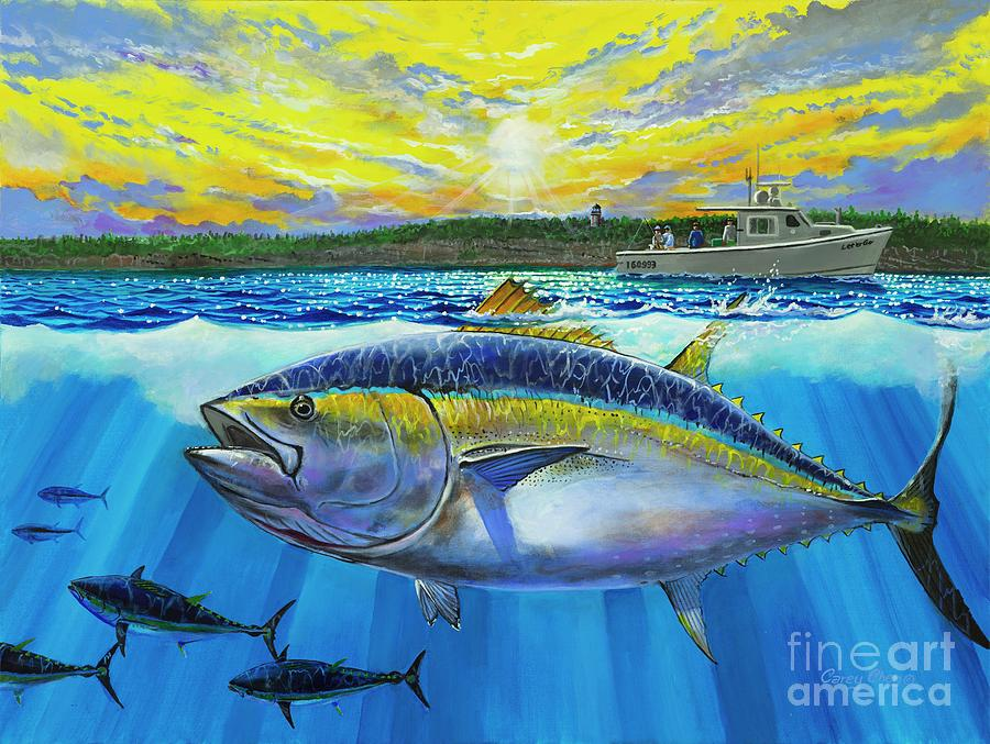 Giant Bluefin Tuna Painting