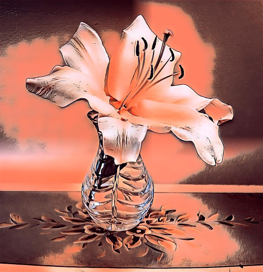 Giant Lilly2 by Sarah Hanley