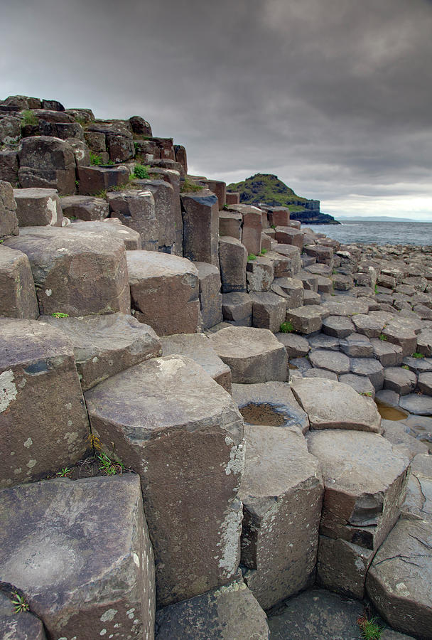 Giants Causeway Hdr Photograph by Ebauwens