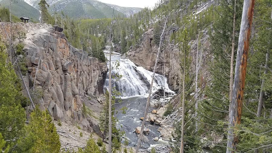Gibbon River Waterfall Photograph