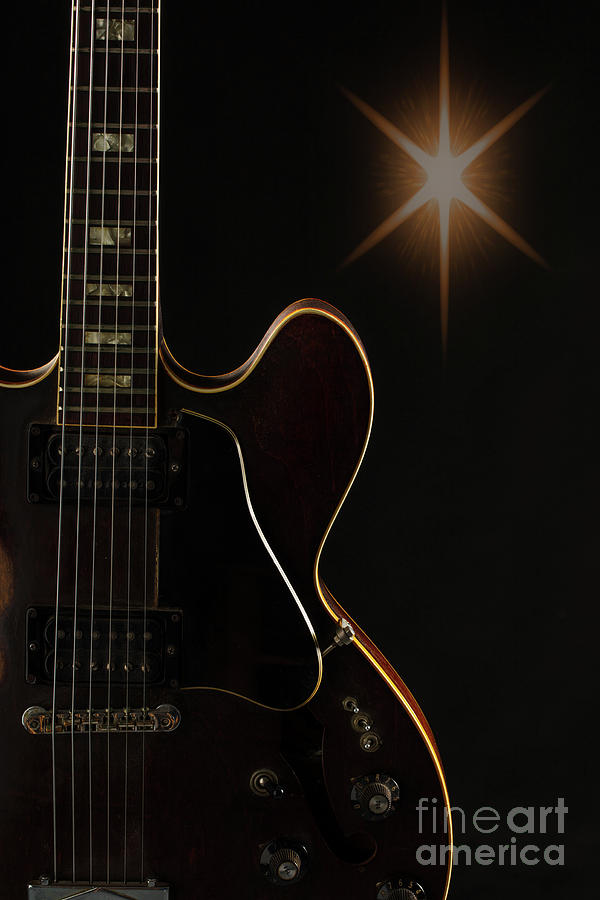 Gibson guitar Picture in Sky 1744.008 by M K Miller