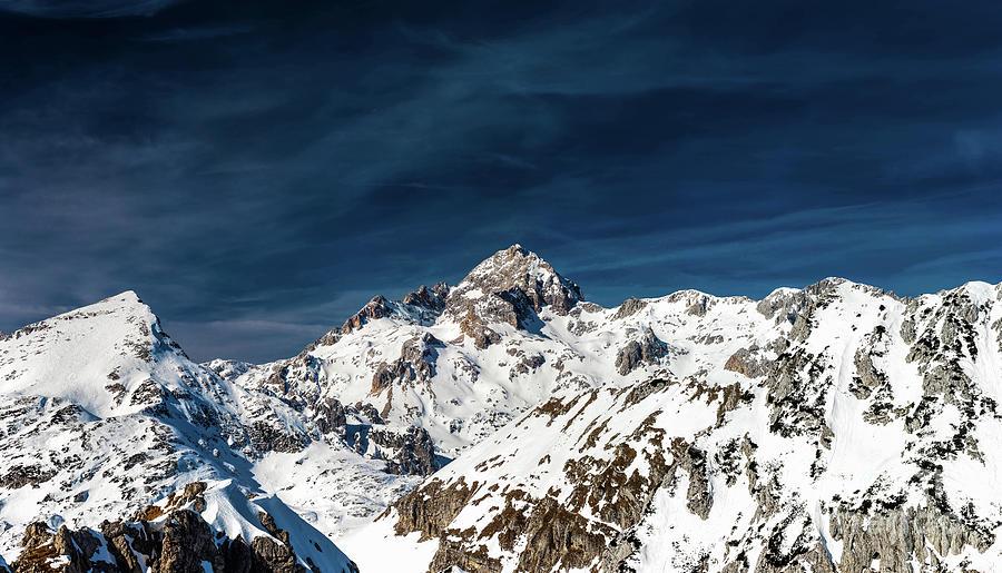 Gigapixel Photograph - Gigapixel Photograph Of Mountain Triglav, Slovenia by Patrik Lovrin