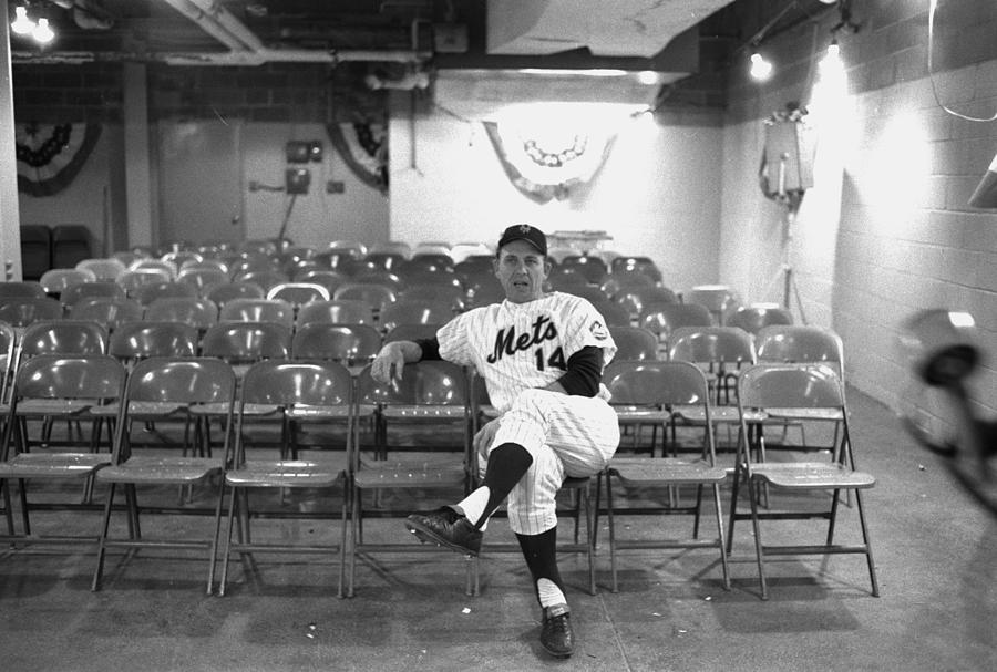Gil Hodges Of The 1969 New York Mets Photograph by New York Daily News Archive