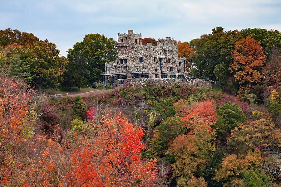 Gillette Castle in Essex Connecticut by Jeff Folger