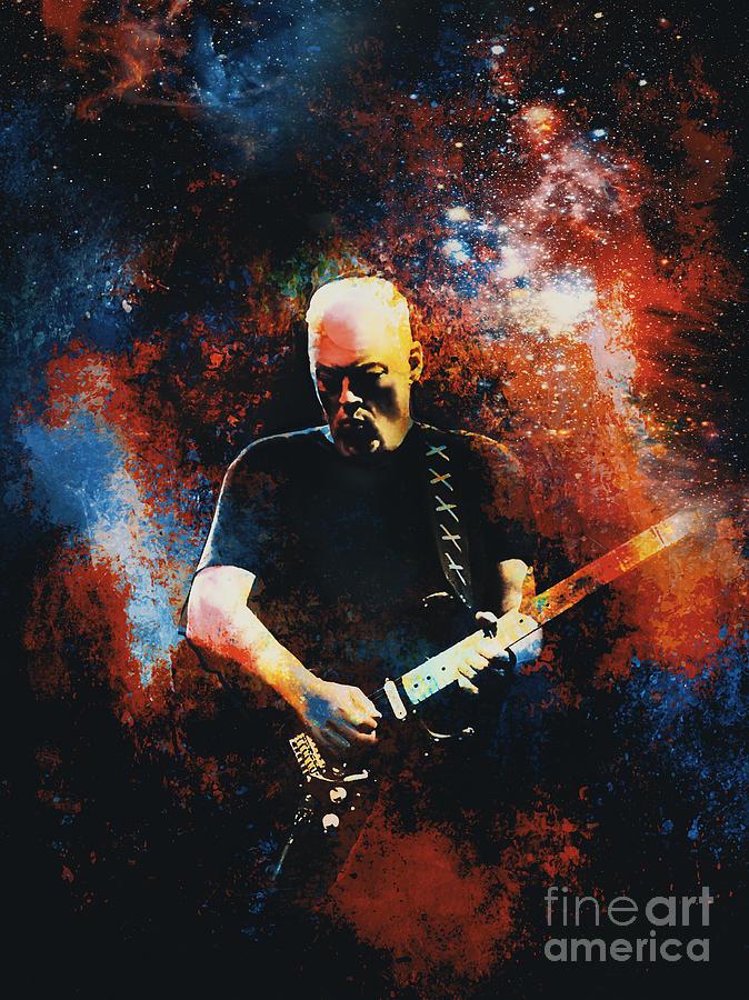 Gilmour David.  by Andrzej Szczerski
