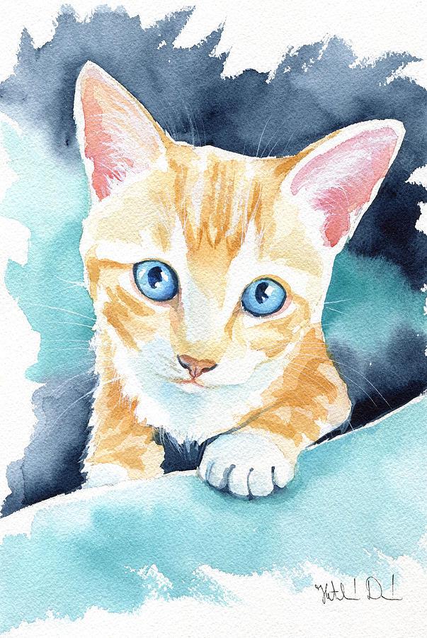 Ginger Kitten by Dora Hathazi Mendes