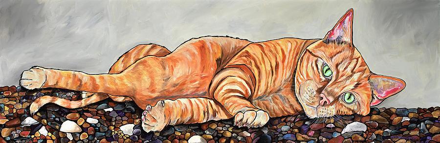Ginger On The Rocks With A Twist by Patti Schermerhorn