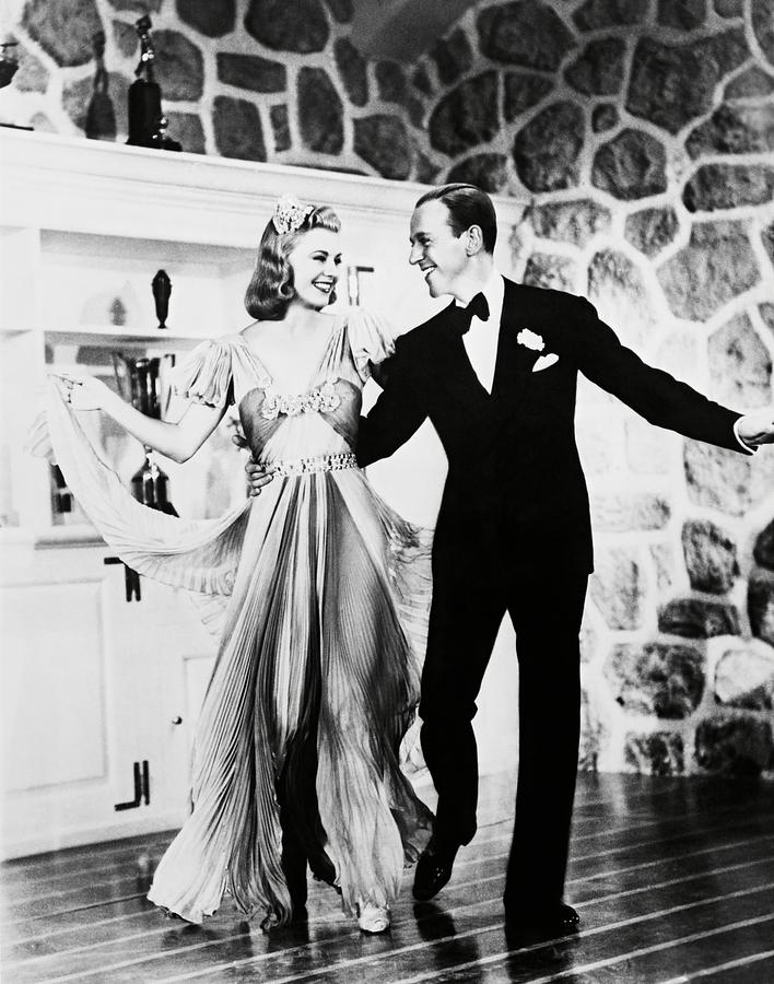 Ginger Rogers And Fred Astaire In Carefree 1938 Photograph By Album