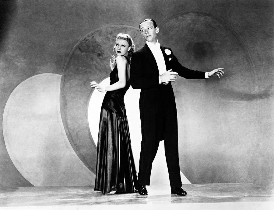 Ginger Rogers And Fred Astaire In Roberta 1935 Photograph By Album