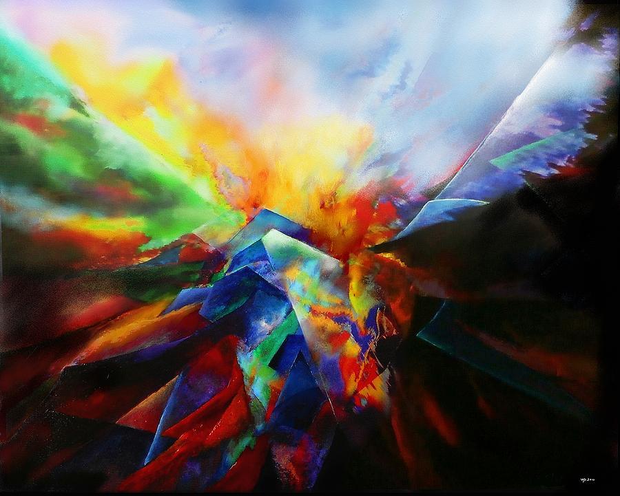 Ginnunga Gap by Wolfgang Schweizer