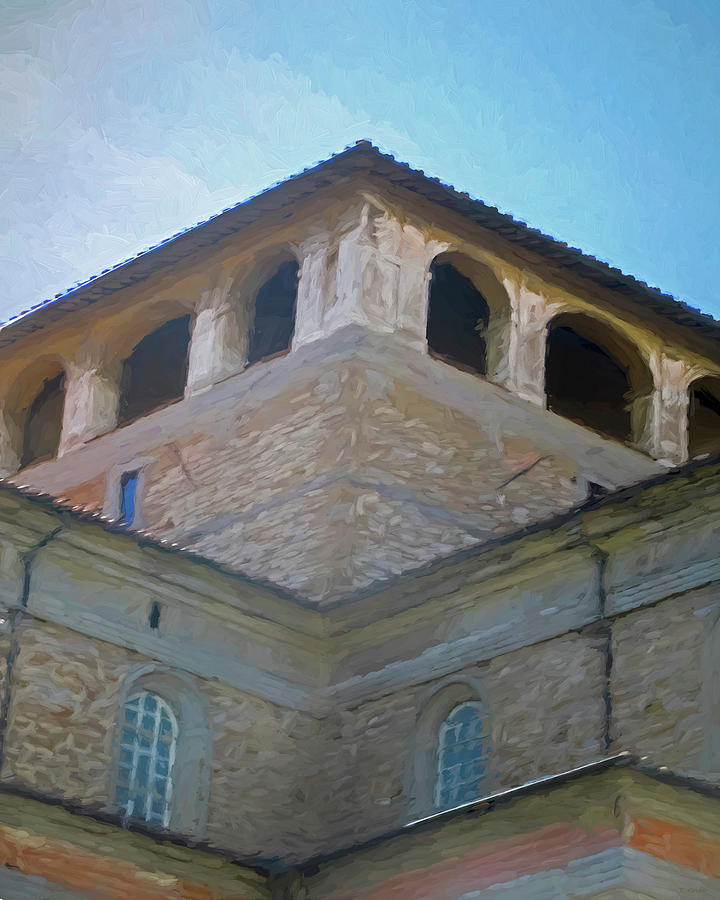 Giotto's Campanile Rooftop Florence Italy by TONY GRIDER