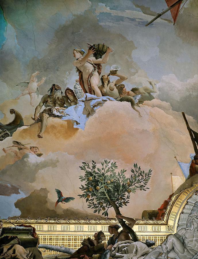 Giambattista Tiepolo Paintings and Frescoes