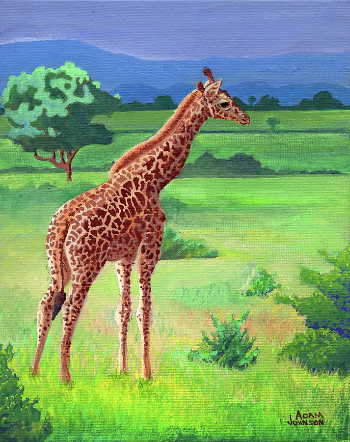 Giraffe by Adam Johnson