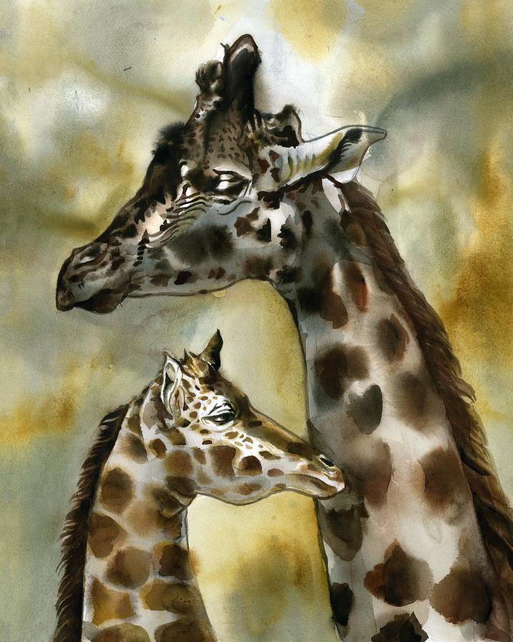 giraffe by Alfred Ng