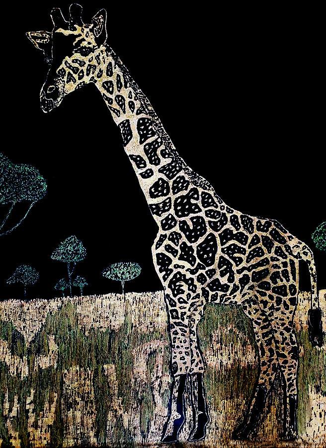 Giraffe by Kingsley Krafts