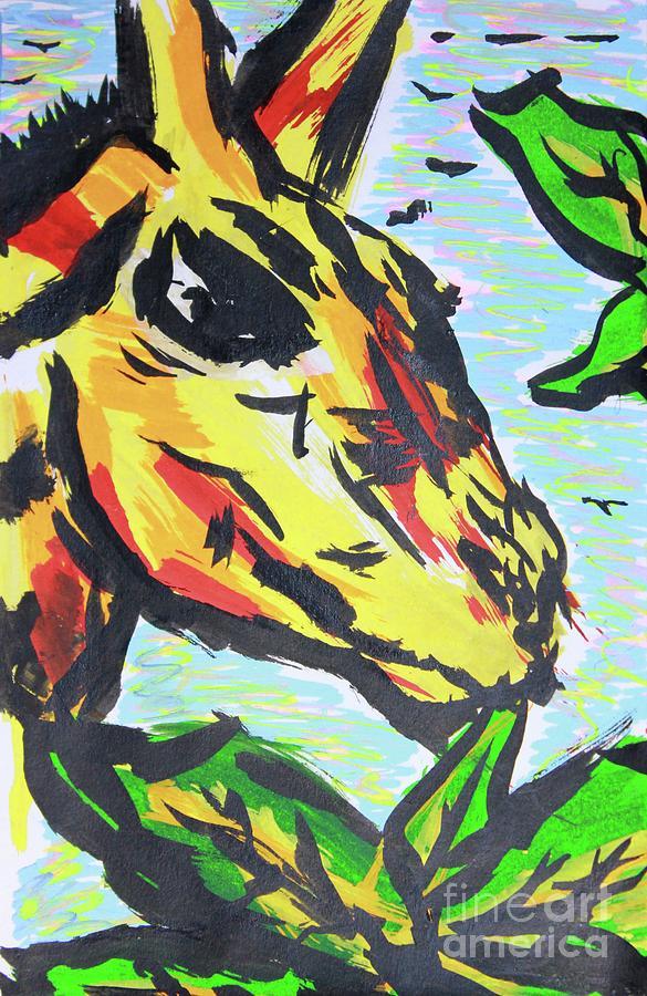 Giraffe by Odalo Wasikhongo