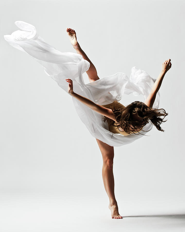 Girl Dancing Photograph by Copyright Christopher Peddecord 2009