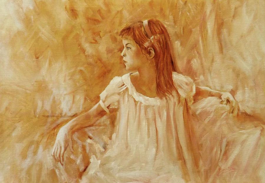 GIRL IN A NIGHTDRESS by Barry BLAKE
