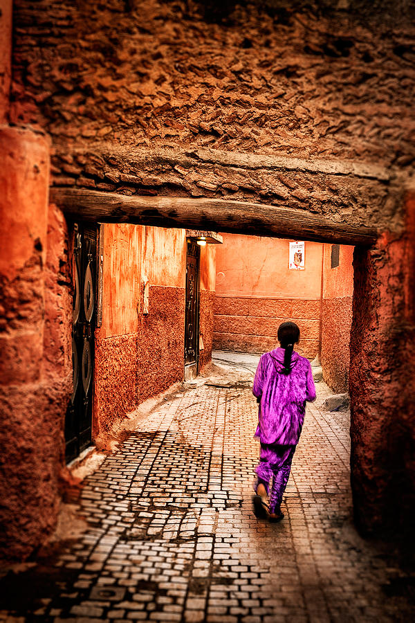 Girl In Marrakech Photograph by Nature And Beauty Photographer
