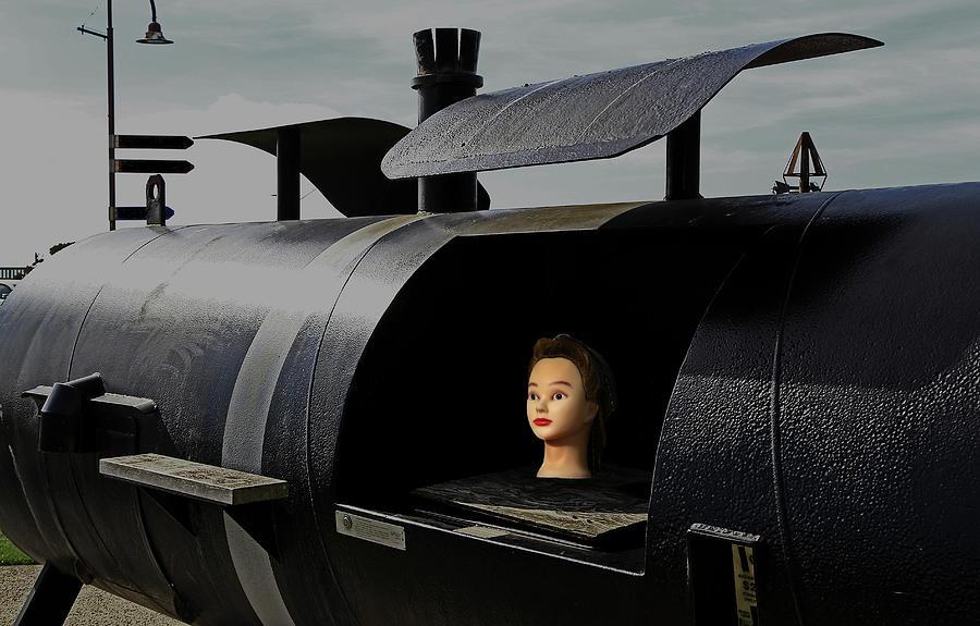 Girl on a Barbecue by Nareeta Martin