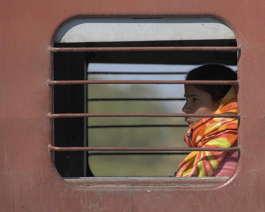 Girl on Train by James Kenning