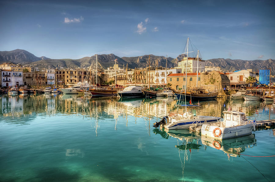 Girne  Kyrenia , North Cyprus Photograph by Nejdetduzen